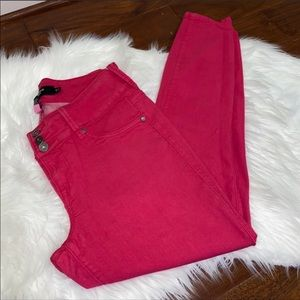 torrid Hot Pink Skinny Jeans Size 12